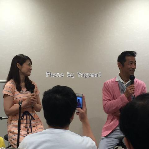 森脇健児さん&熊谷奈美さん