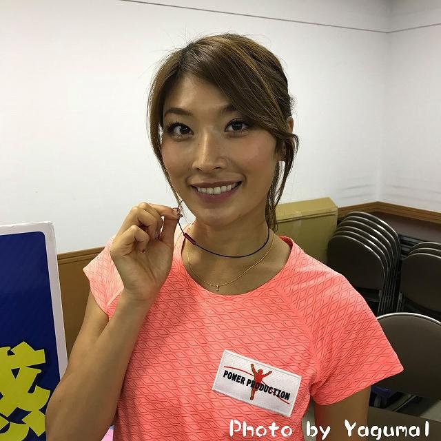 西谷綾子さんワイヤーネック