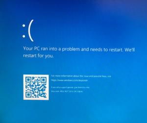 PCが再び壊れた!